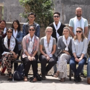 Volunteers nepal group staff